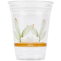 Dart Solo RTP16DBARE Bare Eco-Forward 16 oz. RPET Cold Cup - 50 / Pack