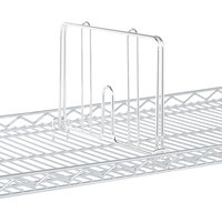 Metro HD18W White Drop Mat Snap-On Divider - 18 inch Wide