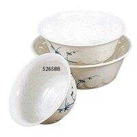 Blue Bamboo Melamine 25 oz. Scalloped Bowl – 6 1/4 inch 12 / Pack