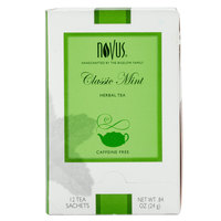 Novus Classic Mint Herbal Tea - 12 / Box