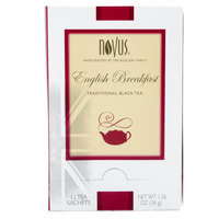 Novus English Breakfast Tea - 12 / Box