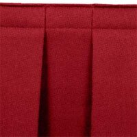 National Public Seating SB32 Burgundy Box Stage Skirt for 32 inch Stage