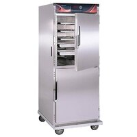 Cres Cor H-137-SUA-12D Insulated Stainless Steel Holding Cabinet with Solid Dutch Doors - 120V