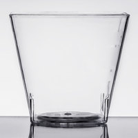 Fineline Tiny Temptations 6406-CL 2.2 oz. Tiny Tumblers Clear Plastic Cup   - 200/Case