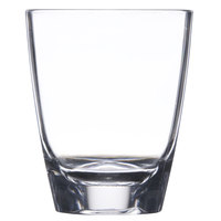 GET SW-1434-CL 3 oz. SAN Plastic Triangle Petite Dessert Glass - 24 / Case