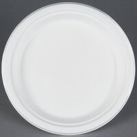 EcoChoice Biodegradable, Compostable Sugarcane / Bagasse 9 inch Plate - 500 / Case