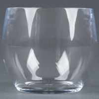 GET SW-1460-CL 8 oz. Clear Plastic Stemless Wine Glass - 24 / Case