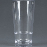 GET S-18-CL Revo 20 oz. SAN Plastic Stackable Glass - 24 / Case