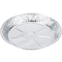 Baker's Mark 12 inch x 1 3/8 inch Extra Deep Foil Pie Pan - 500 / Case
