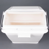 Choice 12.63 Gallon Shelf Ingredient Bin with 2 1/2 Cup Measuring Scoop