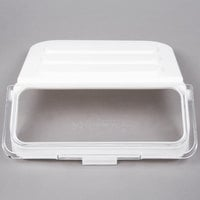 Choice Clear Replacement Lid for 2.63 Gallon Shelf Ingredient Bin