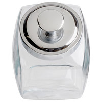 Anchor Hocking 69857R 1/2 Gallon Glass Penny Candy Jar with Chrome Lid
