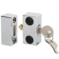 Beverage Air 401-049AAA Lock and (2) Keys for Select Back Bar Refrigerators, Kegerators, and Milk Coolers