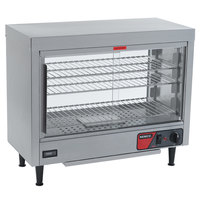 Nemco 6460 Heated Display Case with Lighted Interior and Humidity - 28 inch