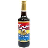 Torani 750 mL Peach Tea Flavoring / Fruit Syrup