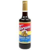 Torani 750 mL Lemon Tea Flavoring / Fruit Syrup