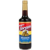 Torani 750 mL Marron (Chestnut) Flavoring Syrup