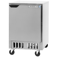 Beverage Air WTR24A-FB 24 inch Undercounter Refrigerator - 5 cu. ft.