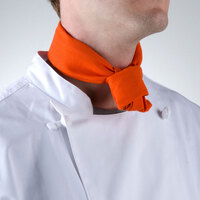 37 inch x 14 inch Orange Neckerchief / Bandana