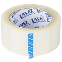 Lavex Industrial 2 inch x 110 Yards Clear Carton Sealing / Packaging Tape - 6 / Pack