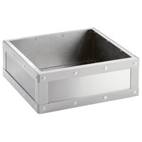 Cal-Mil 3367-55 Stainless Steel Cold Concept Cooling Base - 12 inch x 12 inch x 4 1/2 inch