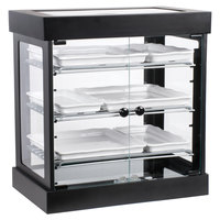 Cal-Mil 3419-13 3 Tier Black Bistro Bakery Display Case