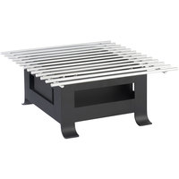 Cal-Mil 3365-12-13 Soho Black Chafer Alternative - 12 inch x 12 inch x 5 inch