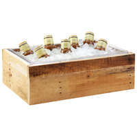 Cal-Mil 3360-12 Vintage Wood Ice Housing - 21 inch x 13 inch x 6 1/2 inch