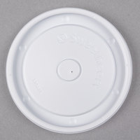 Dart Solo LVS512-0007 Bare 12 oz. Container Lid - 1200 / Case