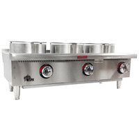 Star 603HWWF Star-Max Three-Burner Gas Wok Range - 75,000 BTU