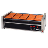 Star Grill-Max Pro 75STE 75 Hot Dog Roller Grill with Electronic Controls and StalTek Non-Stick Rollers