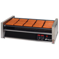 Star Grill-Max Pro 50STE 50 Hot Dog Roller Grill with Electronic Controls and StalTek Non-Stick Rollers