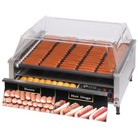 Star Grill-Max Pro 75STBD 75 Hot Dog Roller Grill with Bun Drawer, Analog Controls, and StalTek Non-Stick Rollers
