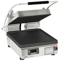Star PST14IE Pro-Max® 2.0 Single 14 inch Panini Grill with Smooth Cast Iron Plates - Electronic Timer