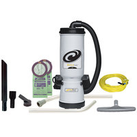 ProTeam 107137 MegaVac 10 Qt. Backpack Vacuum / Blower with Attachment Kit D