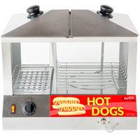 Avantco HDS-100 100 Dog / 48 Bun Hot Dog Steamer - 120V, 1300W