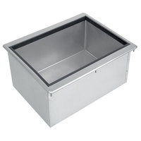 Advance Tabco D-30-IBL Stainless Steel Drop-In Ice Bin - 27 inch x 18 inch