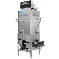 CMA Dishmachines CMA-180TC Single Rack High Temperature Tall Corner Dishwasher - 208/240V, 3 Phase