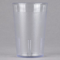 Cambro 800P152 Colorware 7.8 oz. Clear Plastic Tumbler - 72/Case