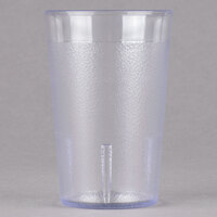 Cambro 800P152 Colorware 7.8 oz. Clear Plastic Tumbler - 72 / Case