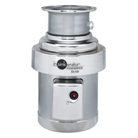 Insinkerator SS-150-38 Short Body Commercial Garbage Disposer - 1 1/2 HP, 1 Phase