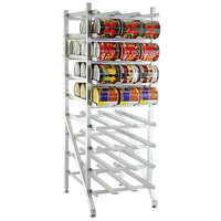 Lakeside 331 Aluminum Stationary #10 Can Rack - Full Size