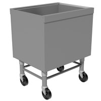 Advance Tabco SCI-MIC-30 Stainless Steel Portable Ice Bin - 30 inch x 18 3/4 inch