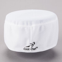 Headsweats 8901-801 COOLCHEF White Customizable Chef Skull Cap