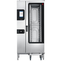 Cleveland Convotherm C4ET20.10ES Half Size Roll-In Boilerless Electric Combi Oven with easyTouch Controls - 38.2 kW