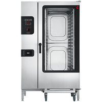 Cleveland Convotherm C4ED20.20GS Full Size Roll-In Boilerless Gas Combi Oven with easyDial Controls - 218,400 BTU