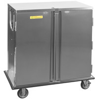 Alluserv TC12-14 Elite Stainless Steel 14 Tray Single Door Meal Delivery Cart