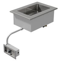 Advance Tabco DISW-1 Stainless Steel One Well Drop-In Sealed Electric Unit - 120V