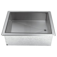 Advance Tabco DICP-6 Stainless Steel Six Pan Size Drop-In Ice Cooled Unit