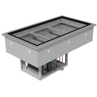 Advance Tabco DIRCP-1 Stainless Steel One Well Drop-In Refrigerated Cold Pan Unit